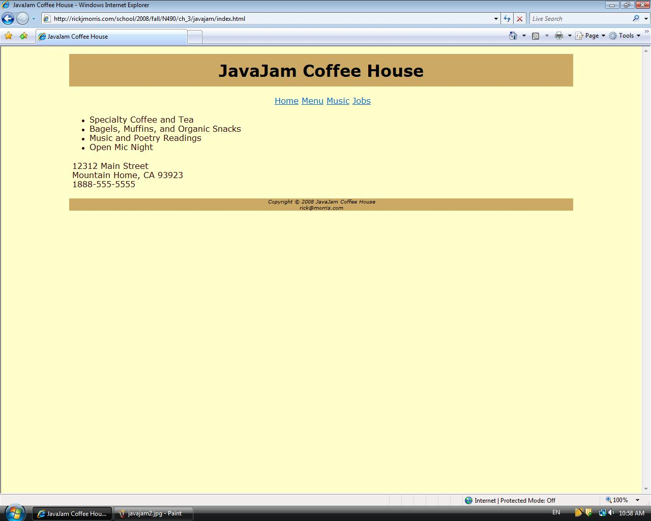 javajam coffee house case study 10